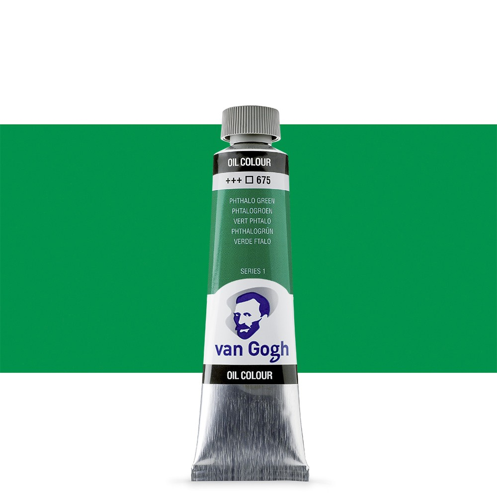Talens : Van Gogh Oil Paint 40ml : Phthalo Green S1