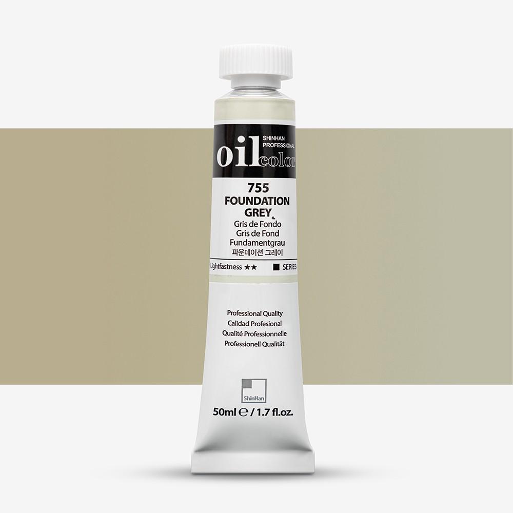 ShinHan : Oil Paint : 50ml : Foundation Grey