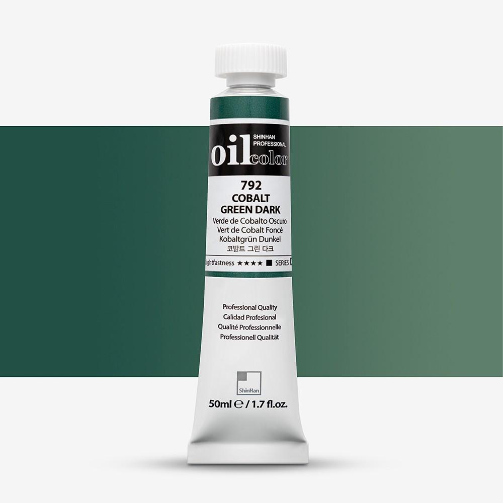 ShinHan : Oil Paint : 50ml : Cobalt Green Dark