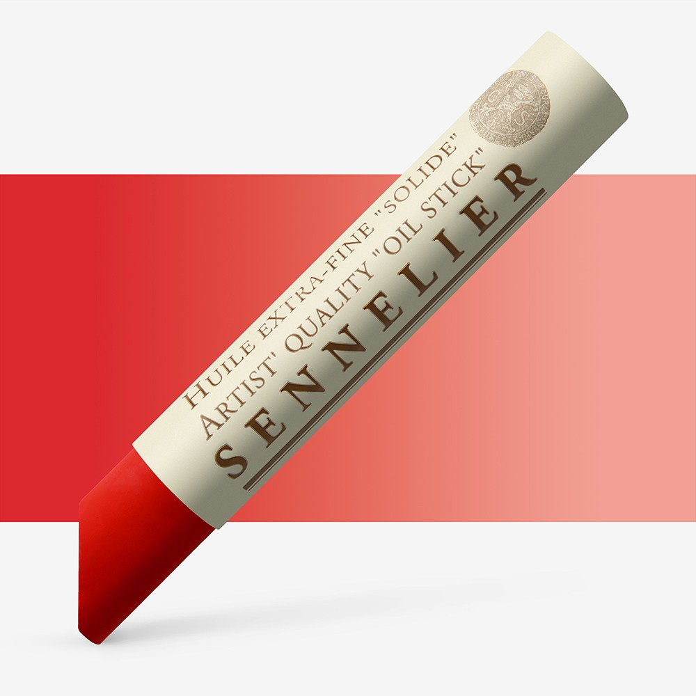 Sennelier : Oil Stick : 38ml : French Vermilion Red