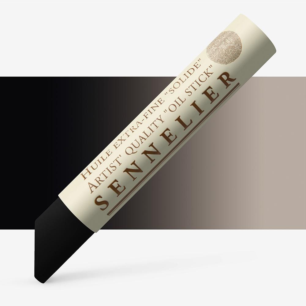 Sennelier : Oil Stick : 38ml : Ivory Black