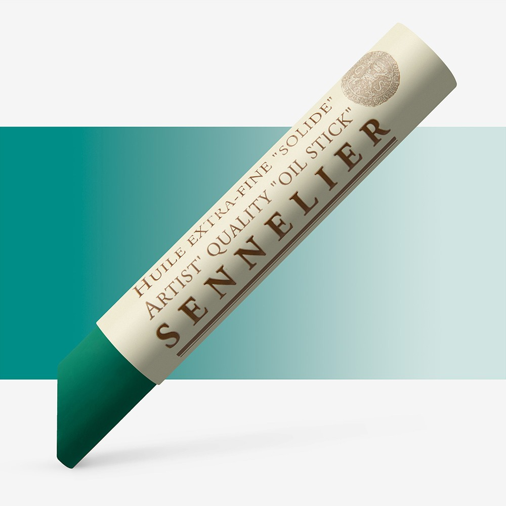 Sennelier : Oil Stick : 38ml : Cobalt Green Light