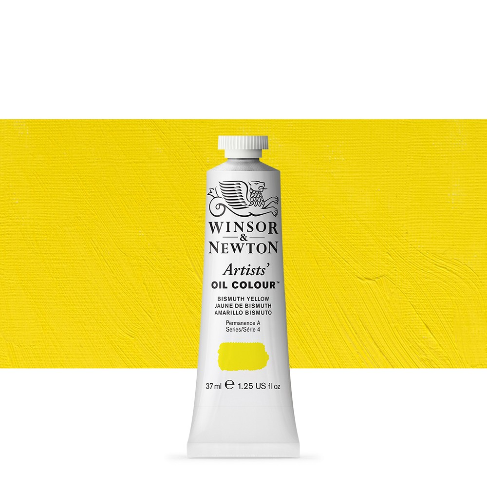 Winsor & Newton : Artists Oil Paint : 37ml : Bismuth Yellow