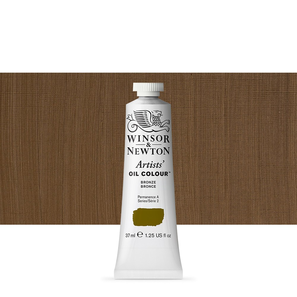 Winsor & Newton : Artists Oil Paint : 37ml Tube : Bronze