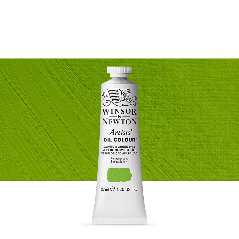 Winsor & Newton : Artists Oil Paint : 37ml : Cadmium Green Pale