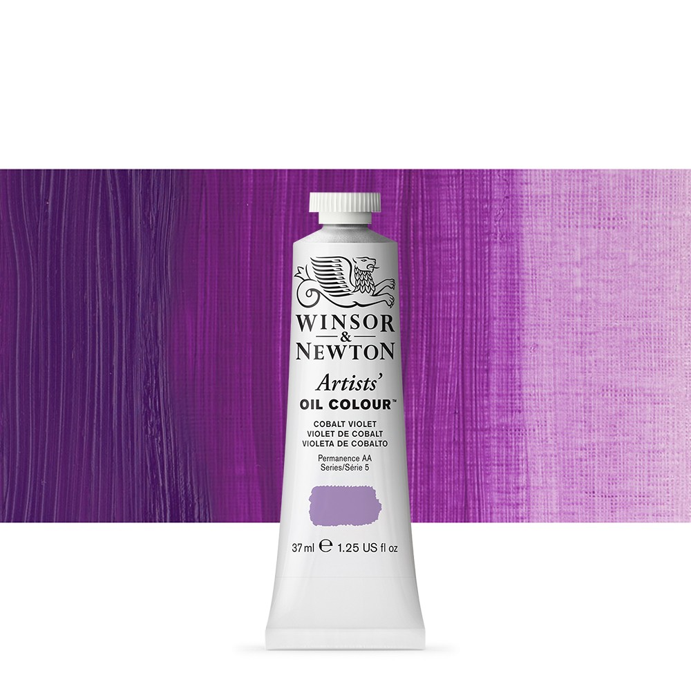 Winsor & Newton : Artists Oil Paint : 37ml Tube : Cobalt Violet
