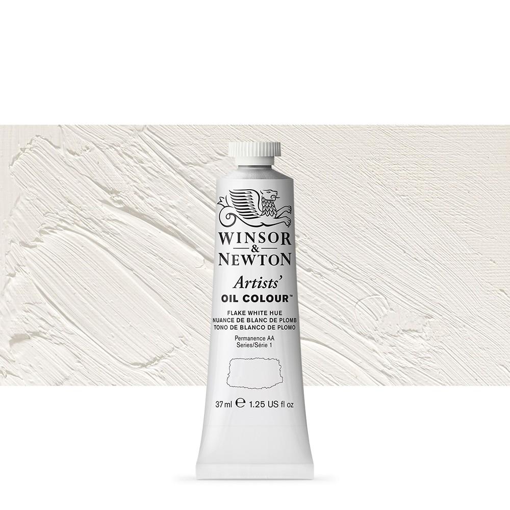 Winsor & Newton : Artists Oil Paint : 37ml Tube : Flake White Hue