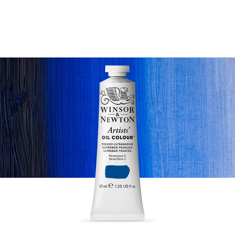 Winsor & Newton : Artists Oil Paint : 37ml Tube : French Ultramarine