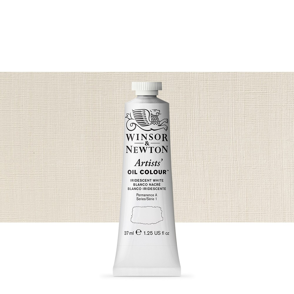 Winsor & Newton : Artists Oil Paint : 37ml : Iridescent White