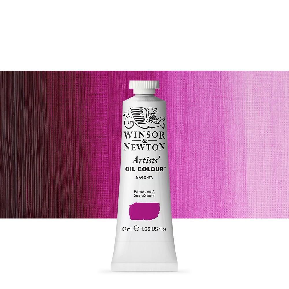 Winsor & Newton : Artists Oil Paint : 37ml Tube : Magenta