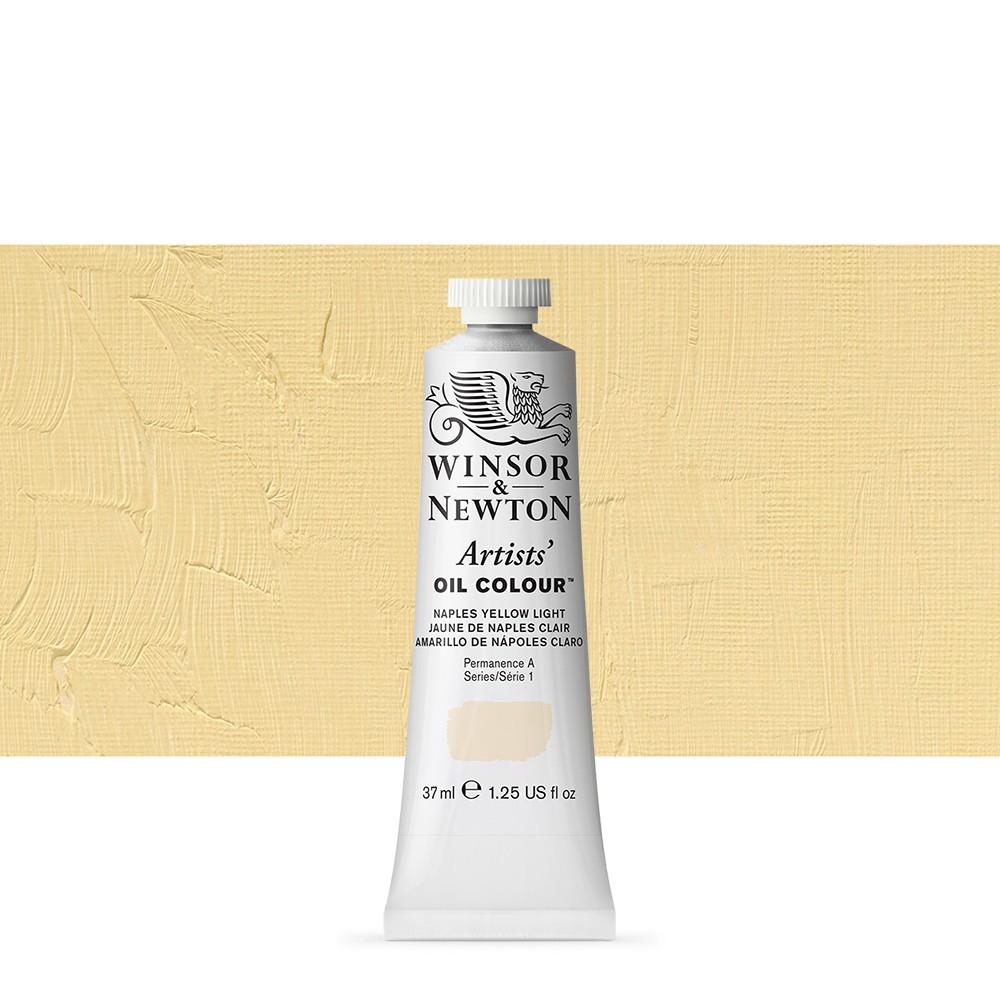 Winsor & Newton : Artists Oil Paint : 37ml Tube : Naples Yellow Light