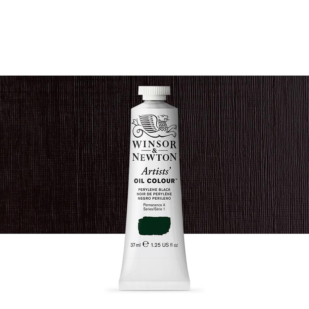 Winsor & Newton : Artists Oil Paint : 37ml : Perylene Black