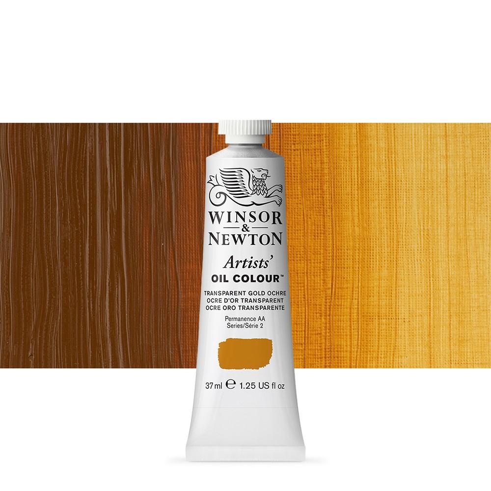 Winsor & Newton : Artists Oil Paint : 37ml : Transparent Gold Ochre