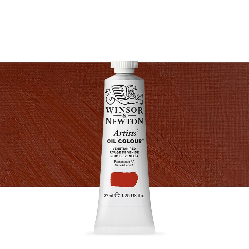 Winsor & Newton : Artists Oil Paint : 37ml Tube : Venetian Red