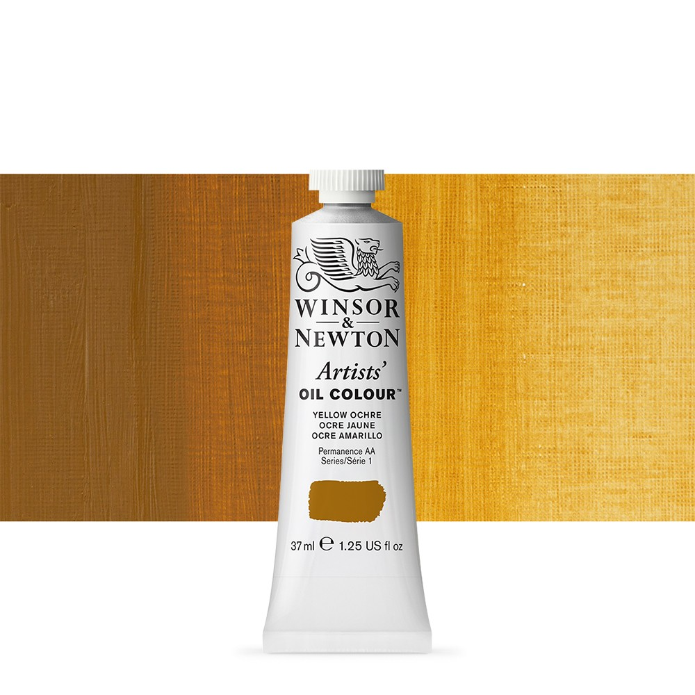 Winsor & Newton : Artists Oil Paint : 37ml : Yellow Ochre