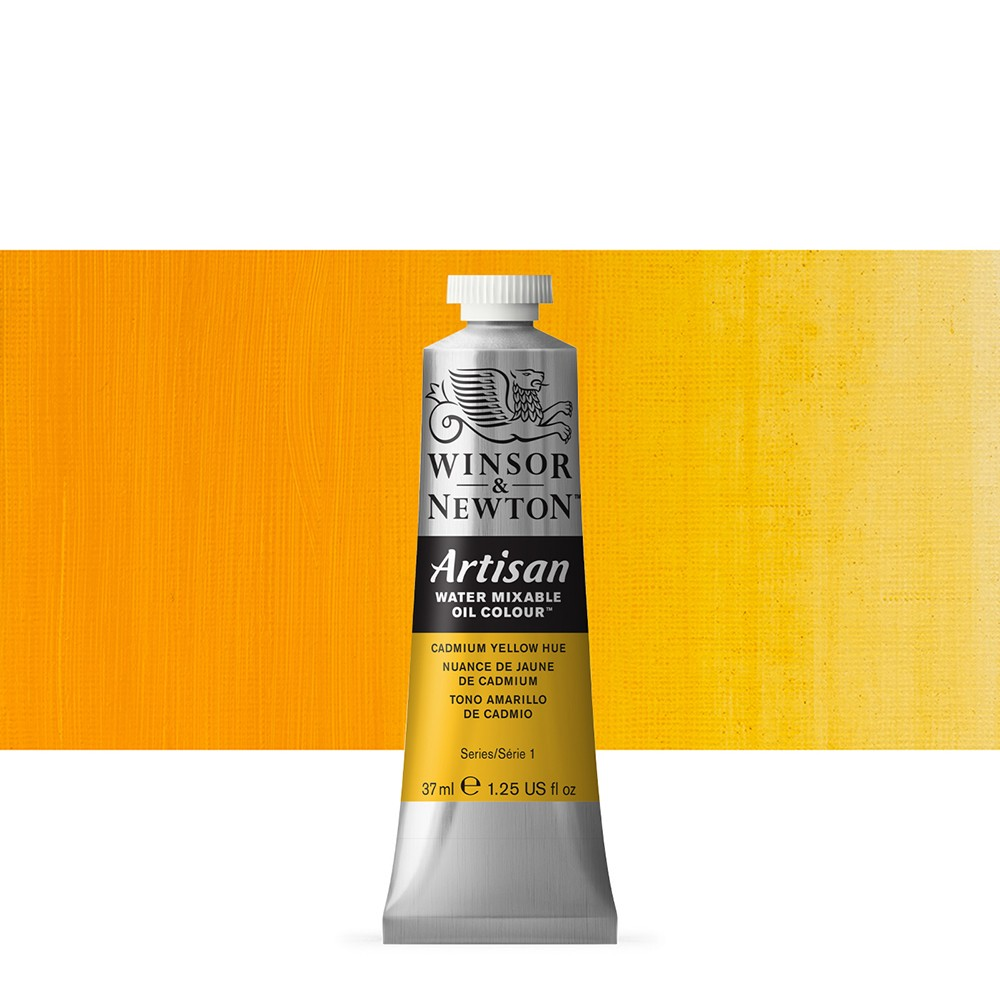 Winsor & Newton : Artisan Water Mixable Oil Paint : 37ml : Cadmium Yellow Hue