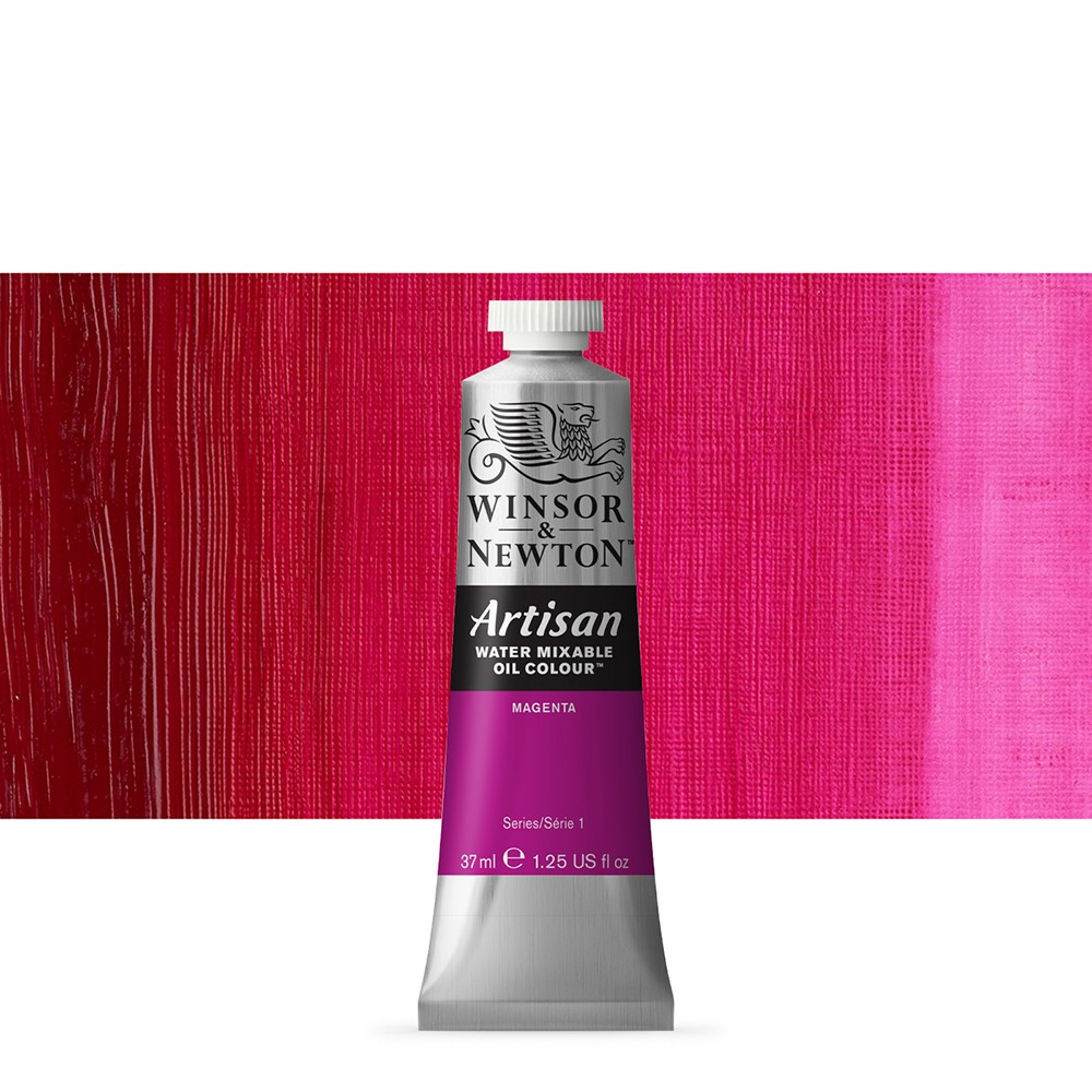 Winsor & Newton : Artisan Water Mixable Oil Paint : 37ml : Magenta