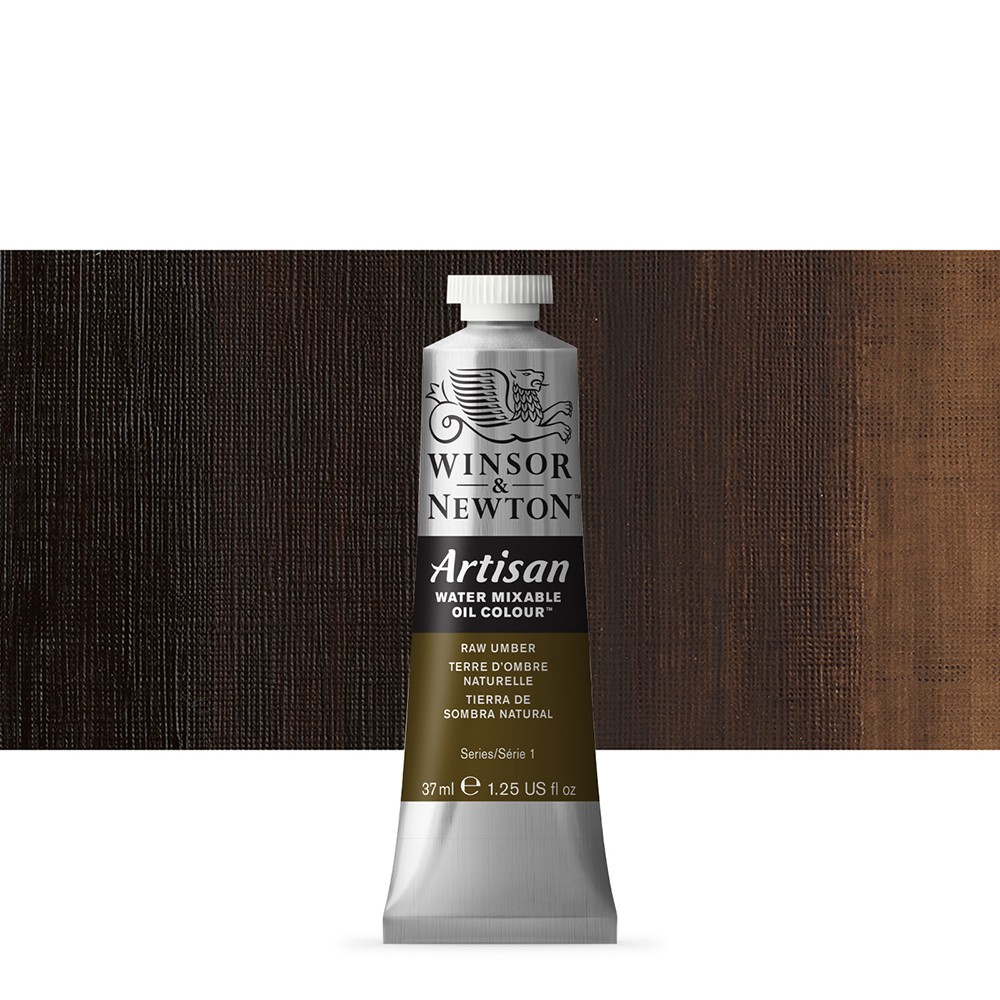 Winsor & Newton : Artisan Water Mixable Oil Paint : 37ml : Raw Umber