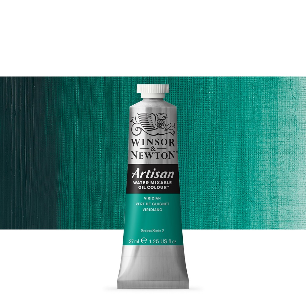 Winsor & Newton : Artisan Water Mixable Oil Paint : 37ml : Viridian