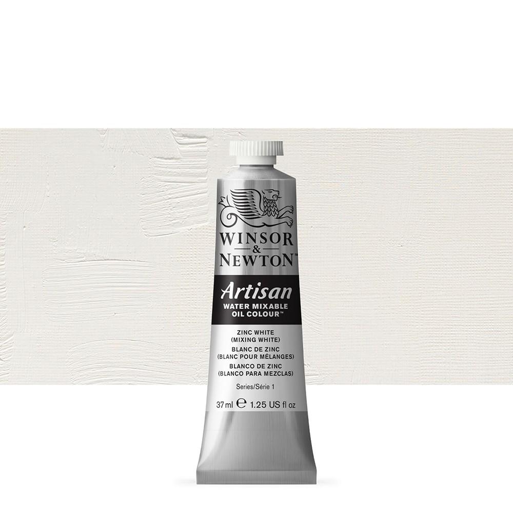 Winsor & Newton : Artisan : Water Mixable Oil Paint : 37ml : Zinc White