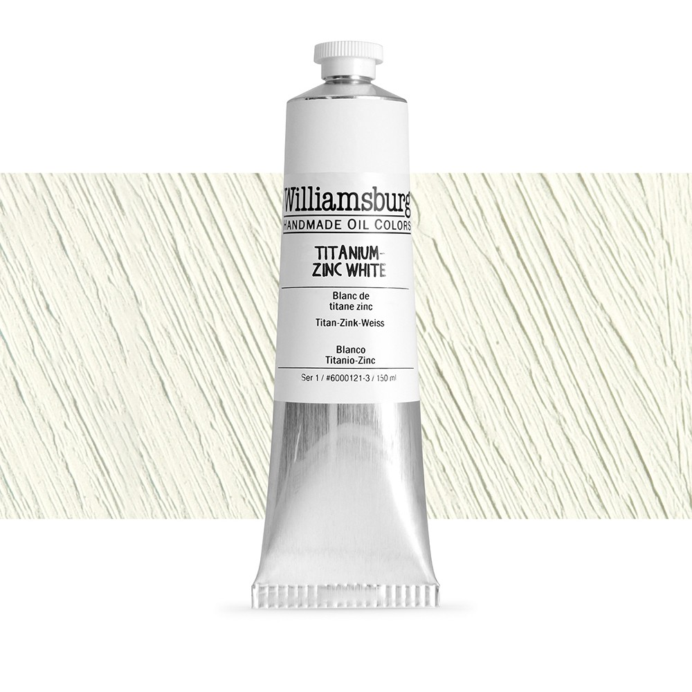 Williamsburg : Oil Paint : 150ml Titanium - Zinc White