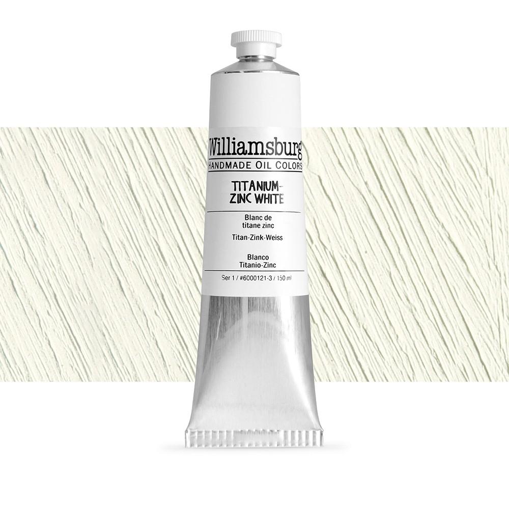 Williamsburg : Oil Paint : 150ml Titanium - Zinc White
