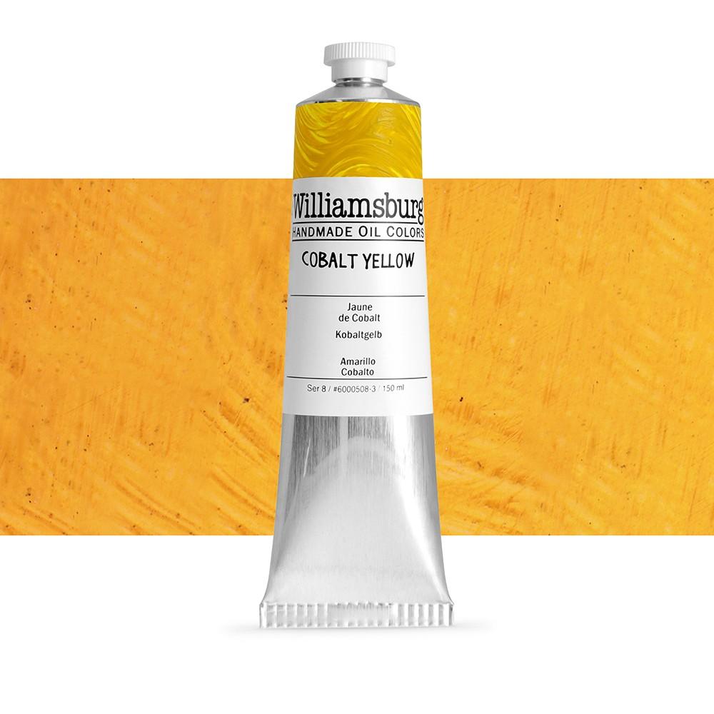 williamsburg oil paint 150ml cobalt yellow williamsburg