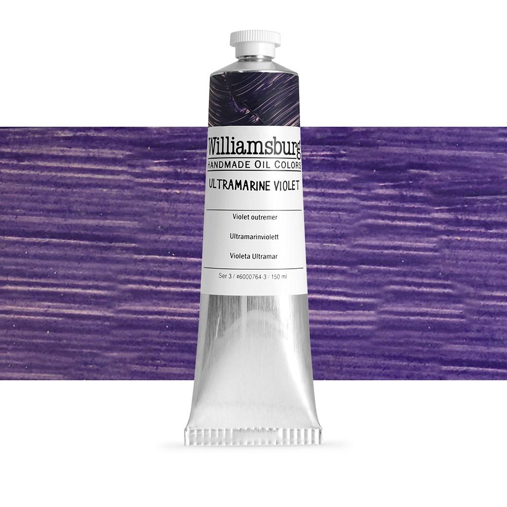 williamsburg oil paint 150ml ultramarine violet williamsburg