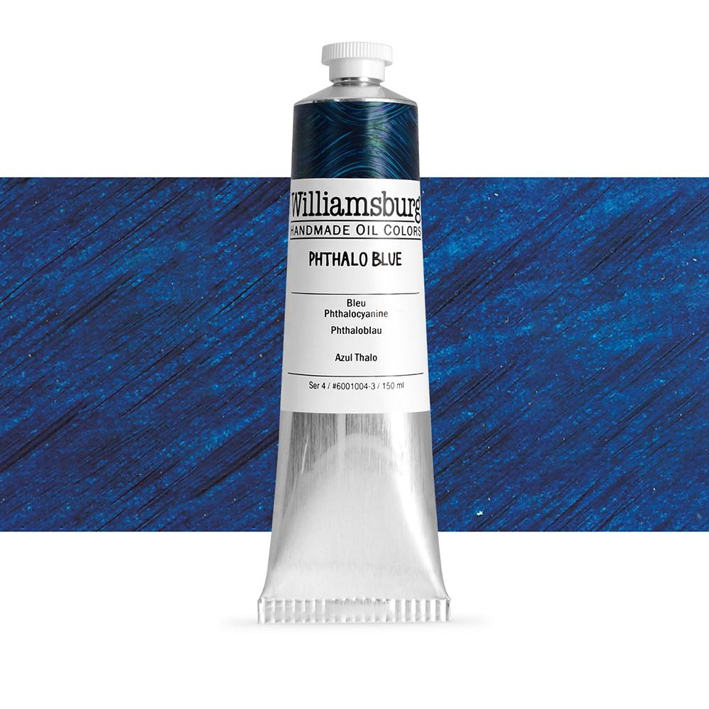 williamsburg oil paint 150ml phthalo blue williamsburg