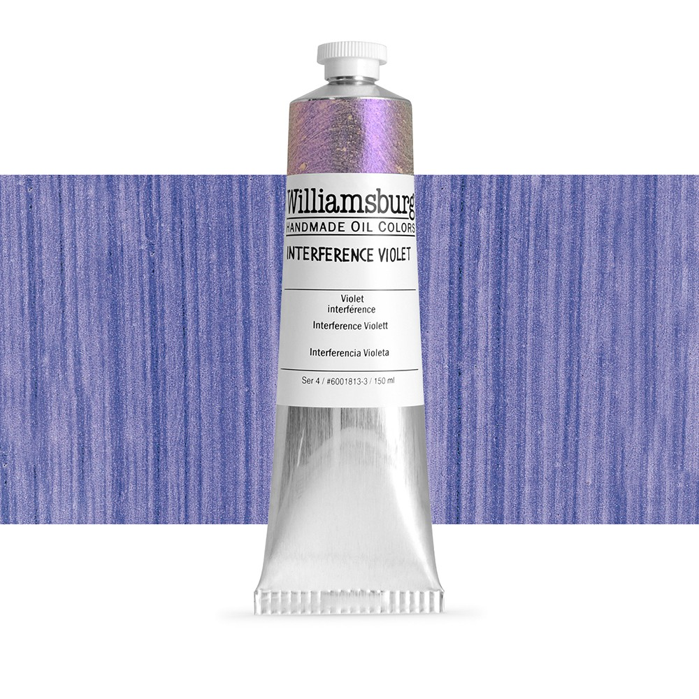williamsburg oil paint 150ml interference violet