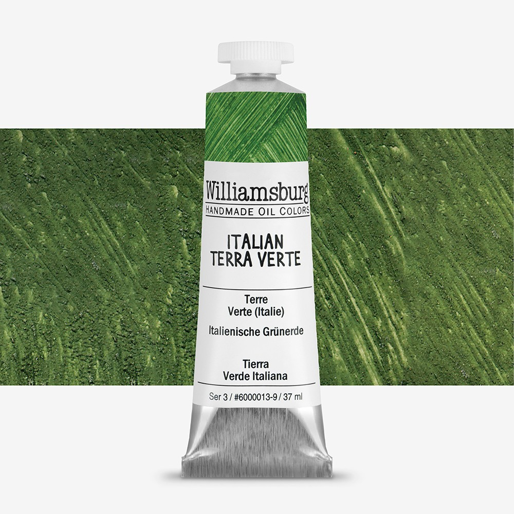 Williamsburg : Oil Paint : 37ml Italian Terra Verte