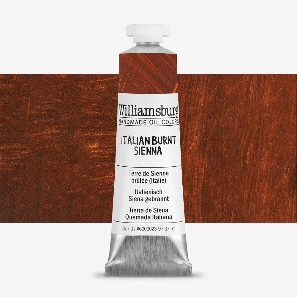 Williamsburg : Oil Paint : 37ml Italian Burnt Sienna