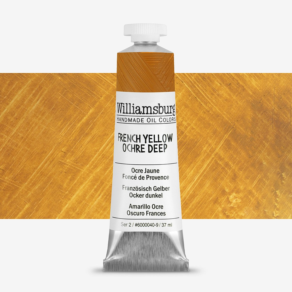 Williamsburg Oil Paint : 37ml : French Yellow Ochre Deep