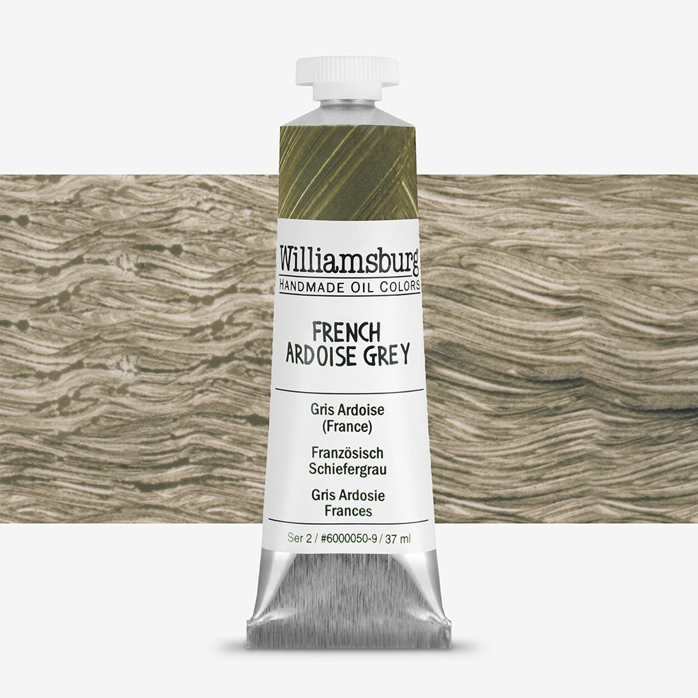 Williamsburg : Oil Paint : 37ml French Ardoise Gray