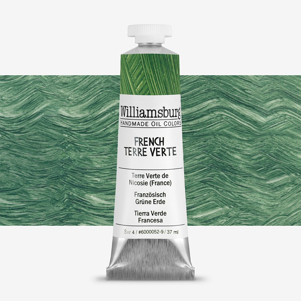 Williamsburg : Oil Paint : 37ml French Terre Verte