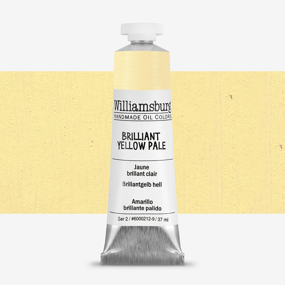 Williamsburg : Oil Paint : 37ml Brilliant Yellow Pale