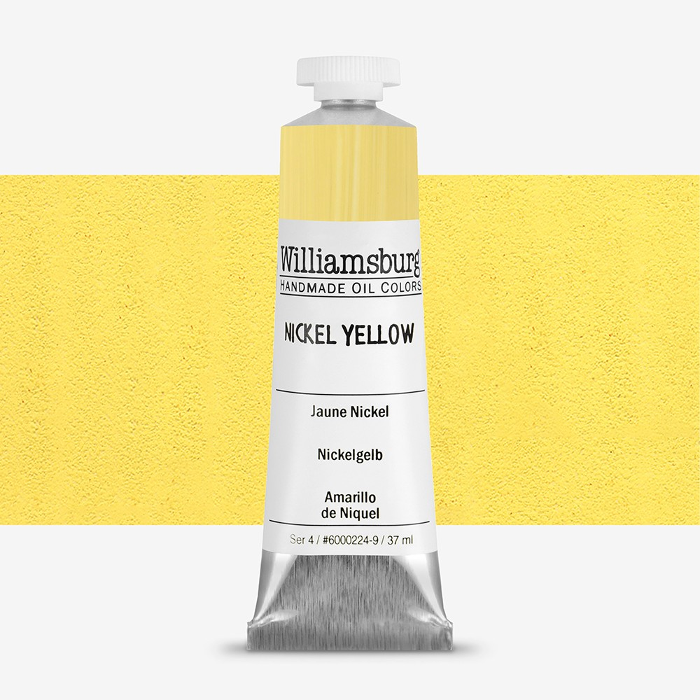 Williamsburg : Oil Paint : 37ml : Nickel Yellow