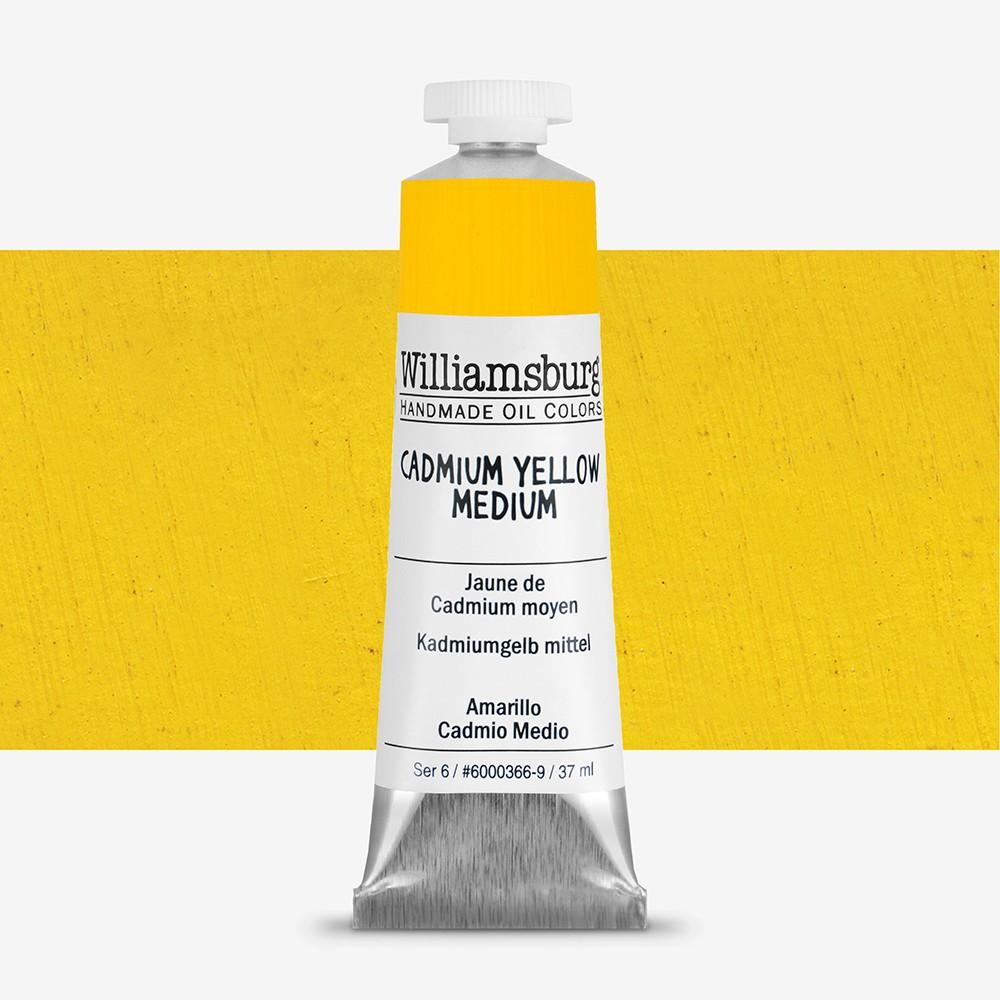 Williamsburg : Oil Paint : 37ml Cadmium Yellow Medium