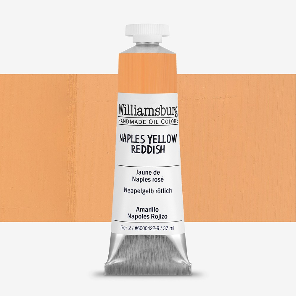 Williamsburg : Oil Paint : 37ml Naples Yellow Reddish