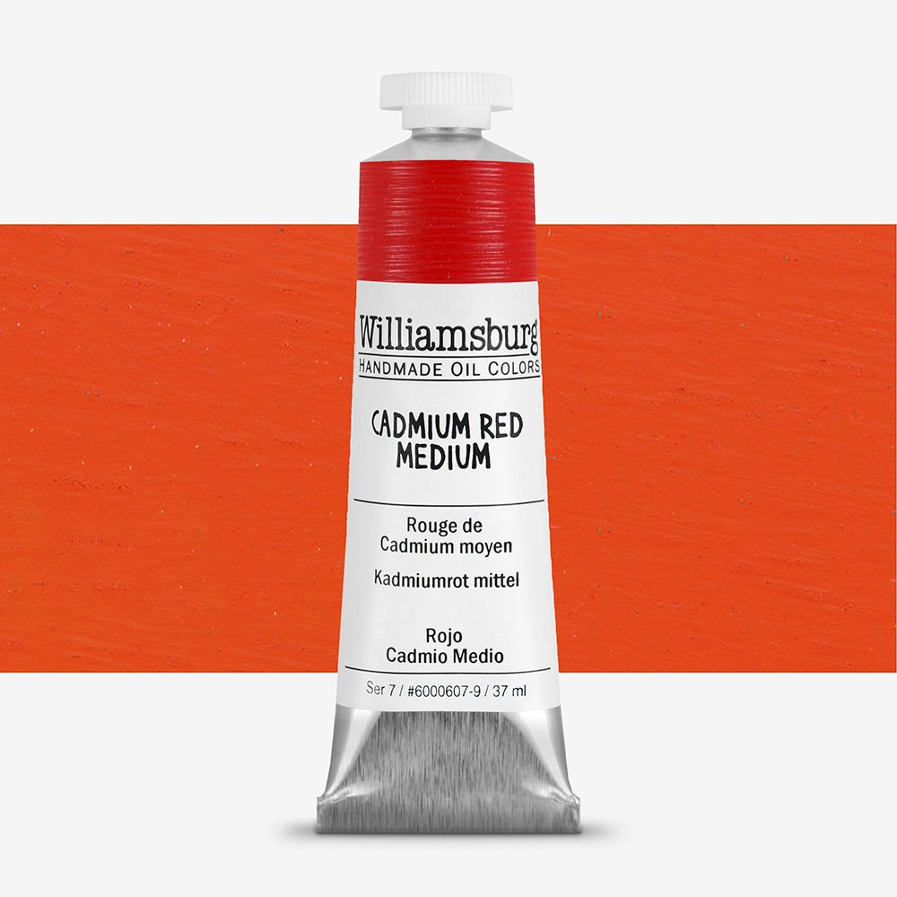 Williamsburg : Oil Paint : 37ml Cadmium Red Medium