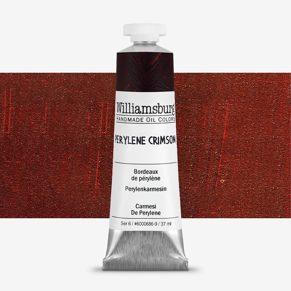 Williamsburg : Oil Paint : 37ml Perylene Crimson