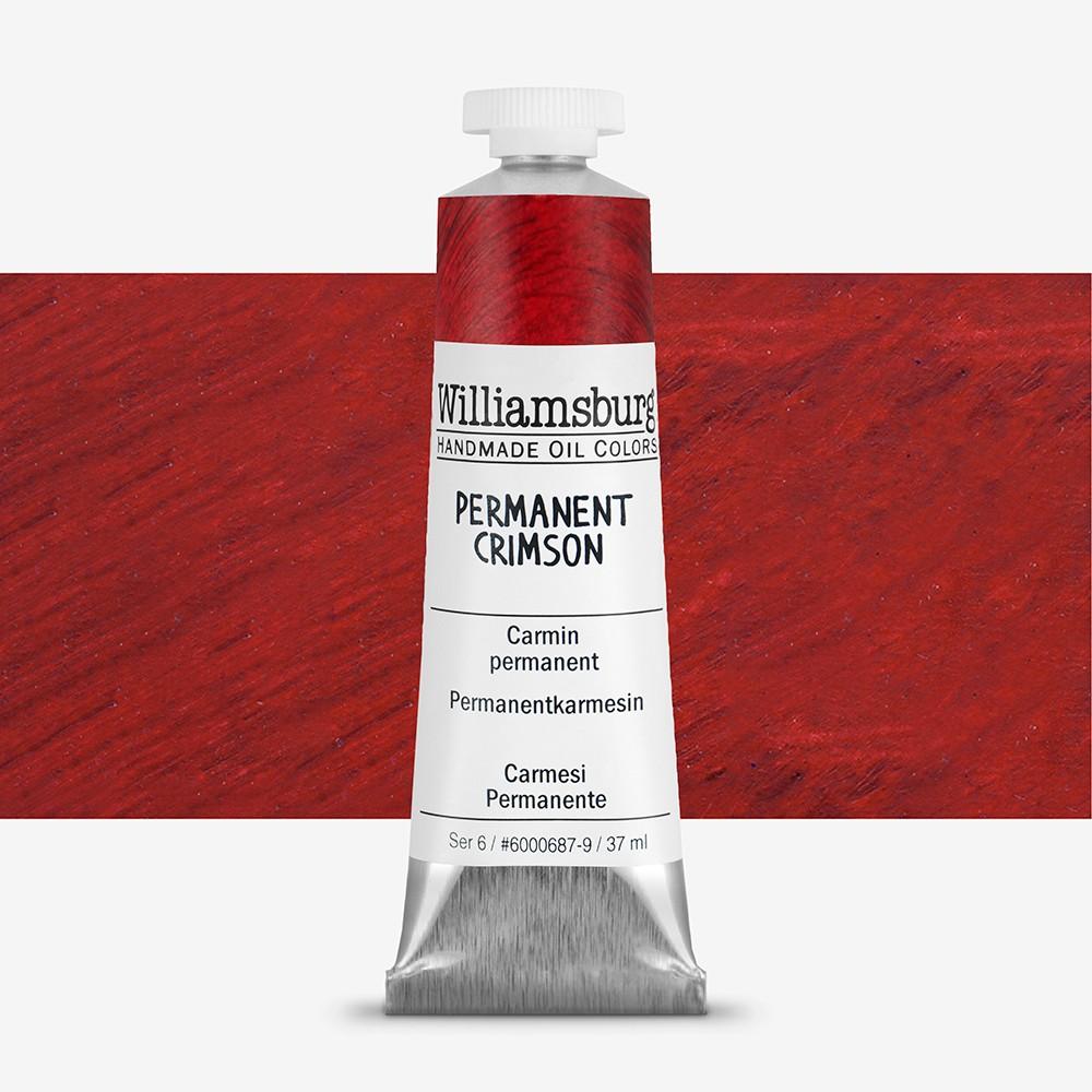 Williamsburg : Oil Paint : 37ml Permanent Crimson