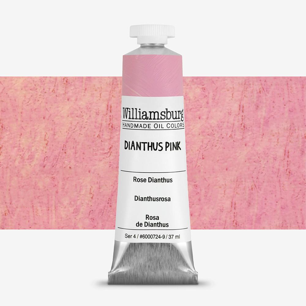 Williamsburg : Oil Paint : 37ml Dianthus Pink