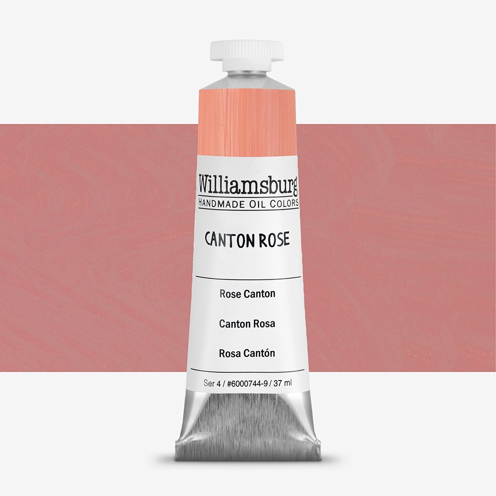 Williamsburg : Oil Paint : 37ml Canton Rose