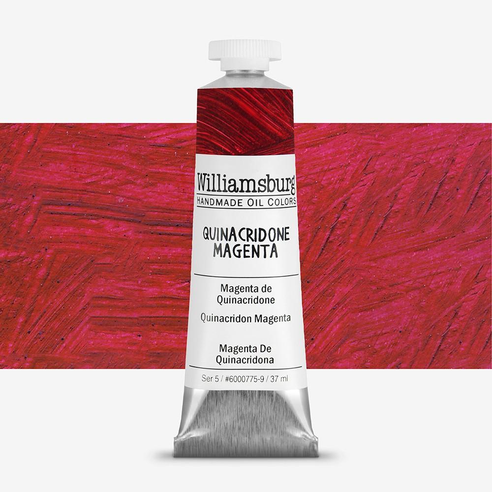 Williamsburg : Oil Paint : 37ml : Quinacridone Magenta