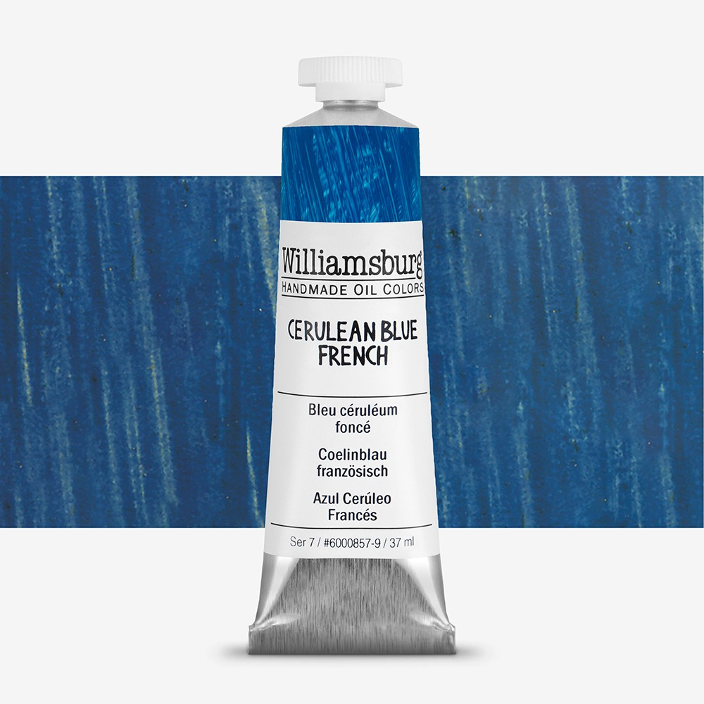 Williamsburg : Oil Paint : 37ml Cerulean Blue French
