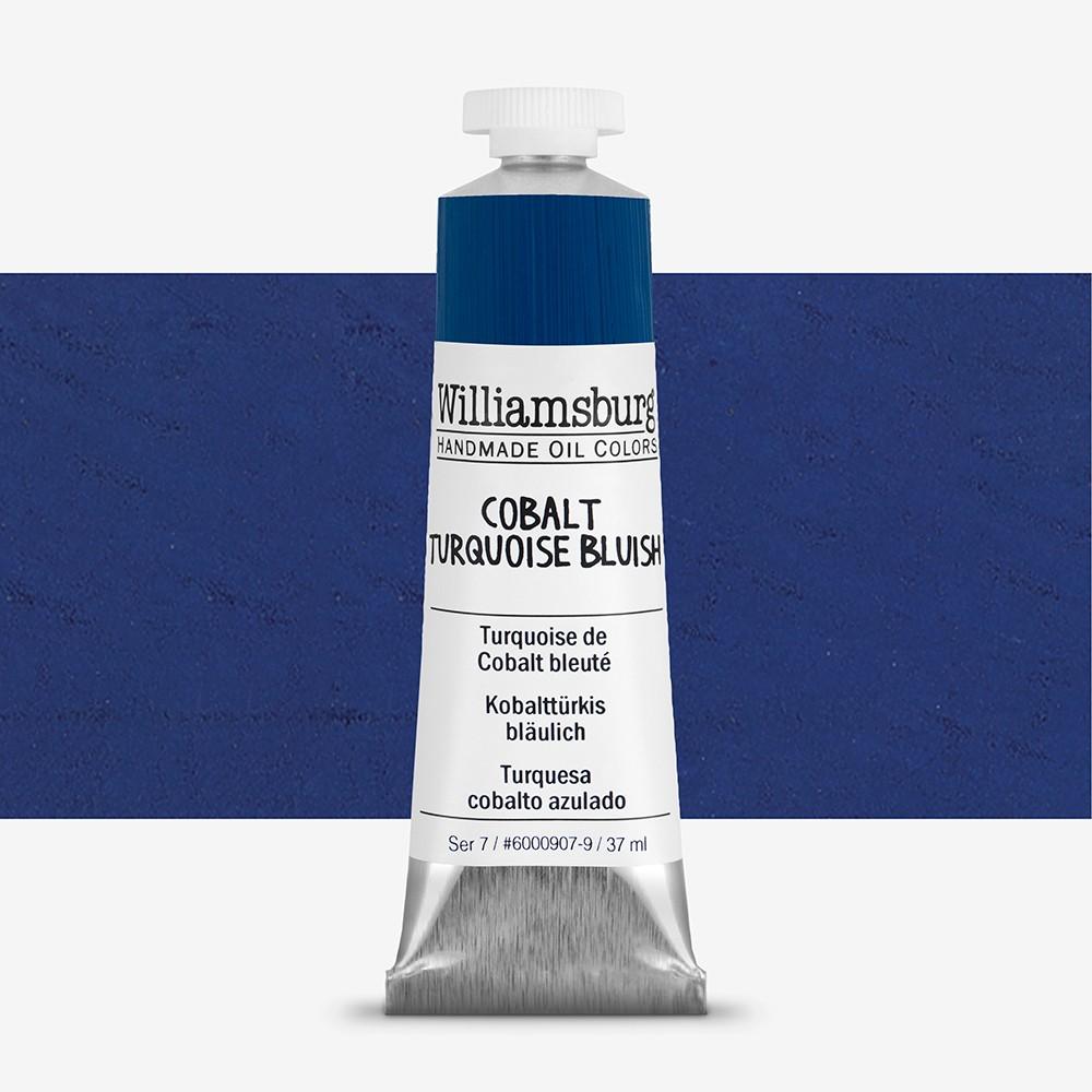 Williamsburg : Oil Paint : 37ml Cobalt Turquoise Bluish