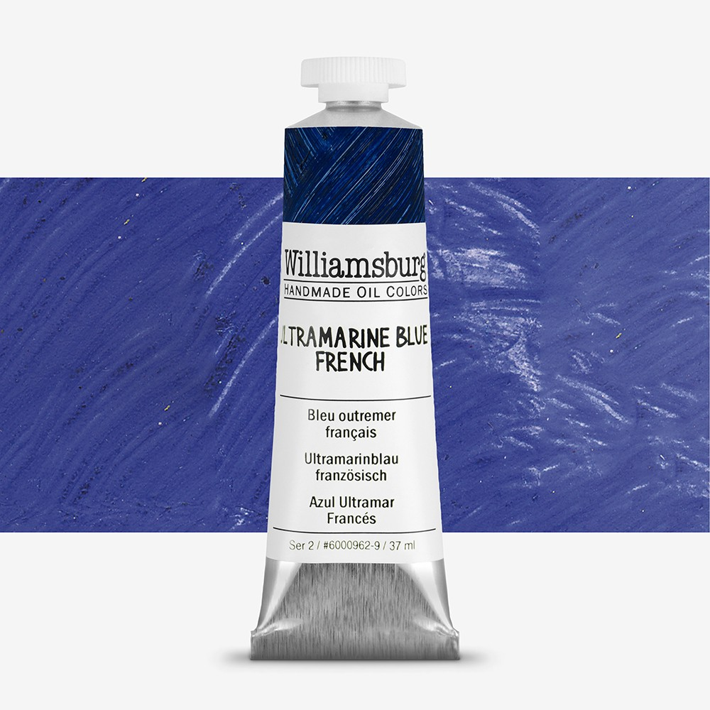 Williamsburg : Oil Paint : 37ml Ultramarine Blue French