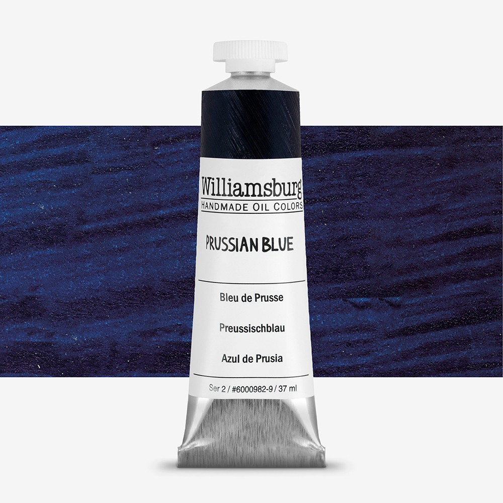 Williamsburg : Oil Paint : 37ml Prussian Blue