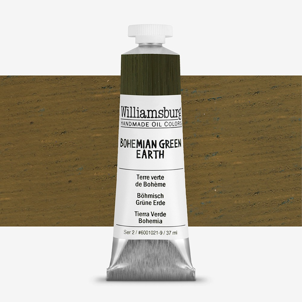 Williamsburg : Oil Paint : 37ml Bohemian Green Earth